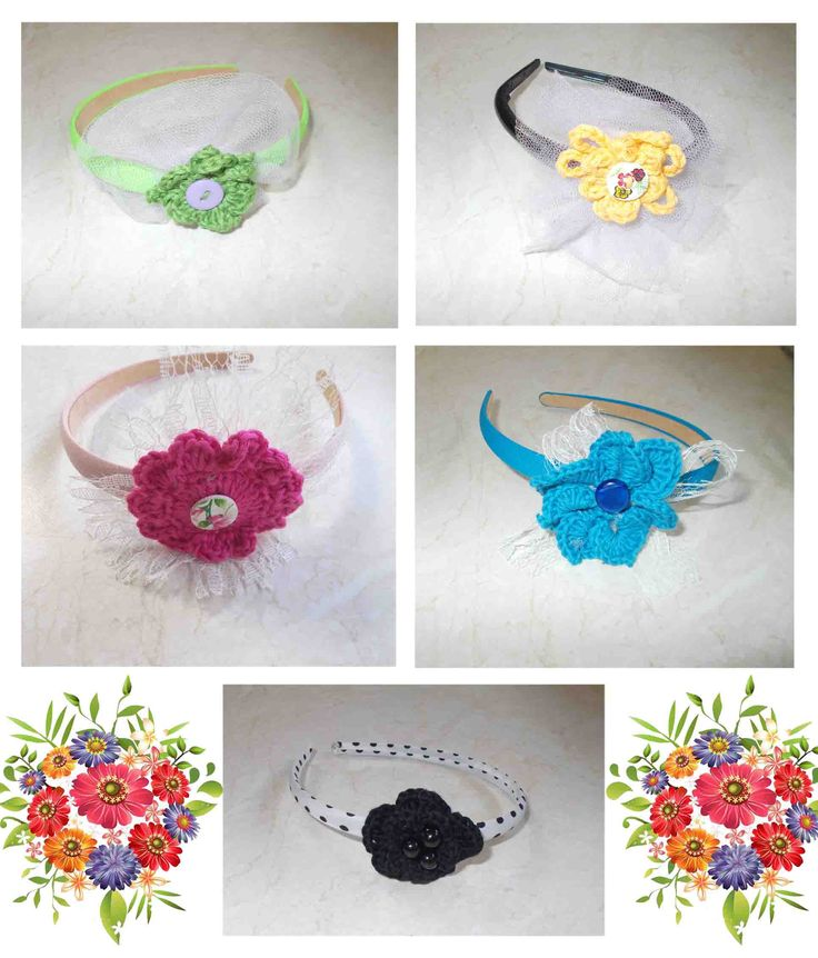 crochet flowers! by plektologio
