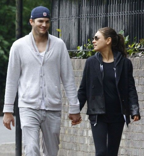 Ashton Kutcher Meets Mila Kunis' Parents In London - Is A Wedding Soon?...They Make A Super Couple and This May Be The One For Ashton For Home & Hearth & Family!! We'll See!!