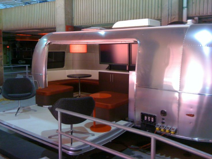 Airstream Custom Interiors With Patio Chairs Airstream Custom Interiors