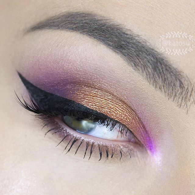 🍇🍯 Zoom on eye make up from previous post 🍯🍇 I've created this look using…