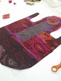 ANDREA GRAHAM, step by step handbag tutorial