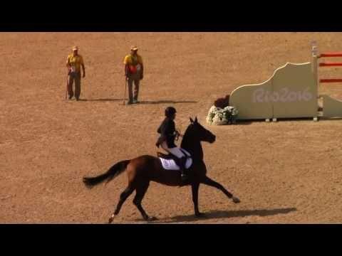 Rio 2016 - Great Britain's Nick Skelton - Individual Final Round B - YouTube