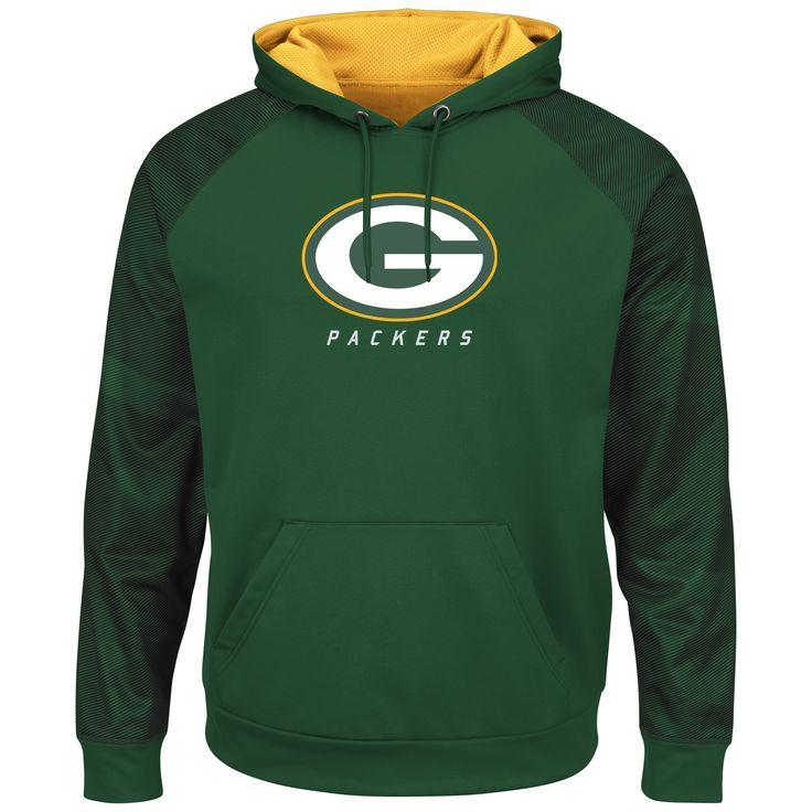 Majestic Green Bay Packers Armor II Mens Hoodie. #greenbay #packers