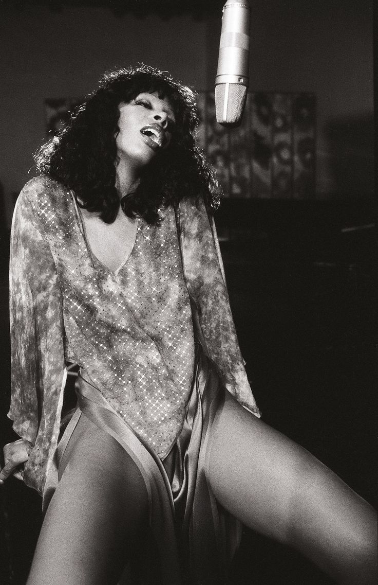 The Photography of Julian Wasser - Donna Summer 1975