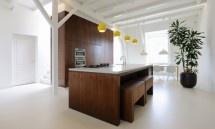 Chunky Wooden Kitchen - Modern Interiors