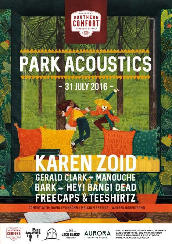 Park Acoustics - Score free tickets & chow