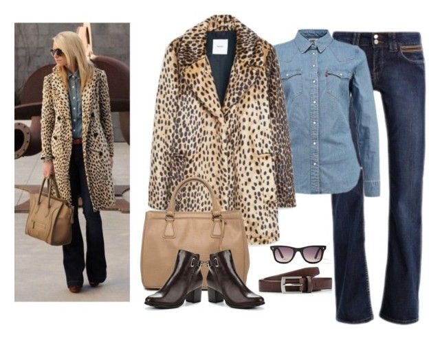 """С чем носить леопардовое пальто"" by olga-kim-b on Polyvore featuring мода, MANGO, leopard, LeopardPrint, coat и leopardcoat"