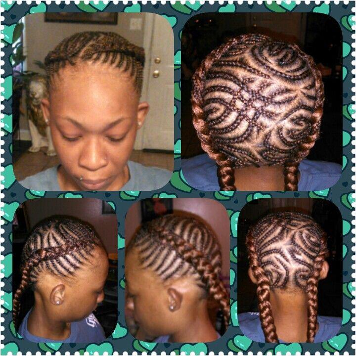 Designed iverson duo braids