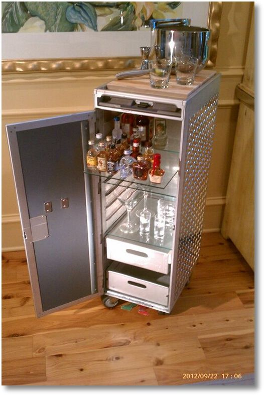 141 Best Images About Revived Airline Catering Trolleys On