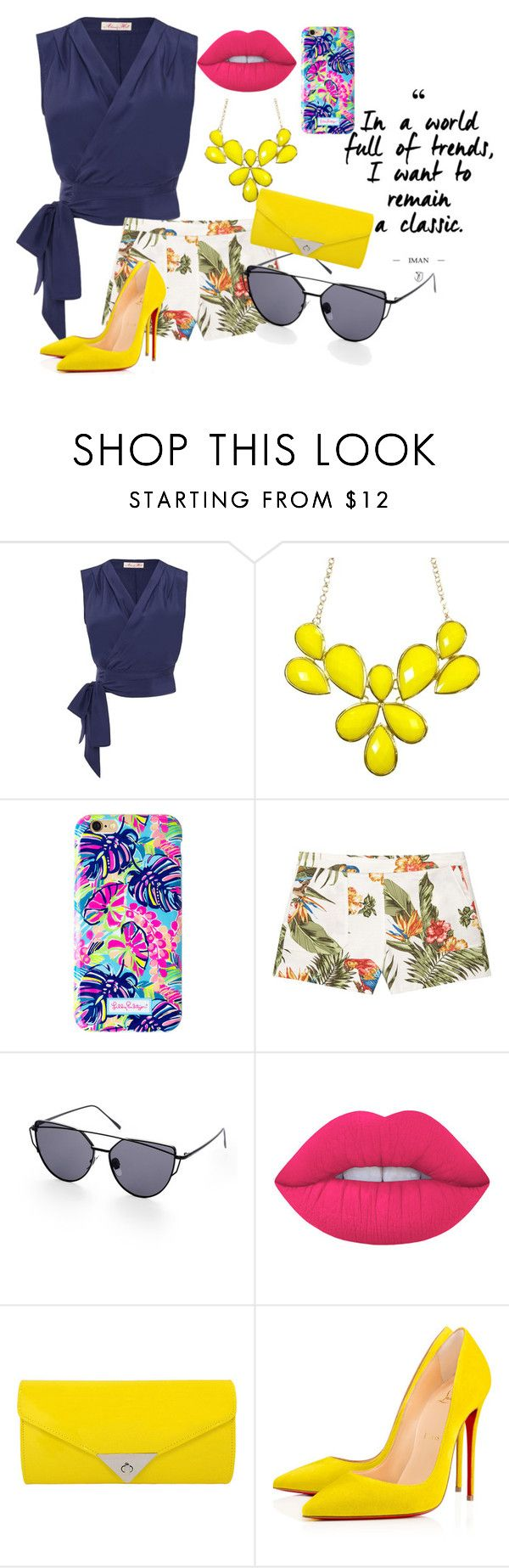 """""""Untitled #210"""" by frupapp on Polyvore featuring Lilly Pulitzer, MANGO, Lime Crime and JNB"""