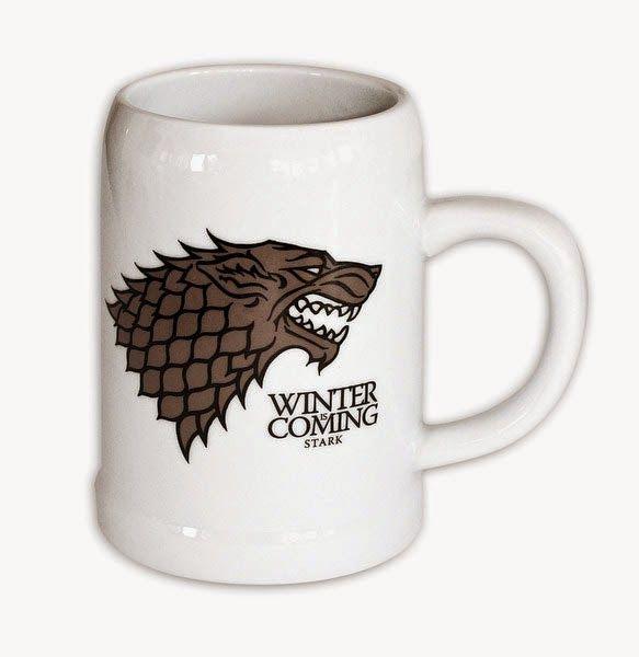 Jarra de Cerveza Juego de Tronos Casa Stark | Merchandising Películas