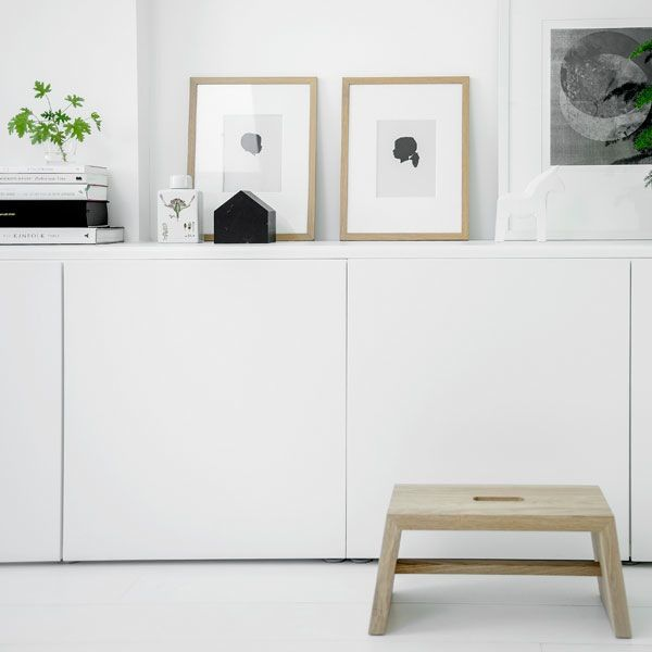 Sideboard Styling Inspiration Interior White Interior