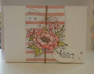 Stempelhaus: Geburtstagsblumen