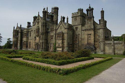 Margam Castle, Port Talbot, Wales