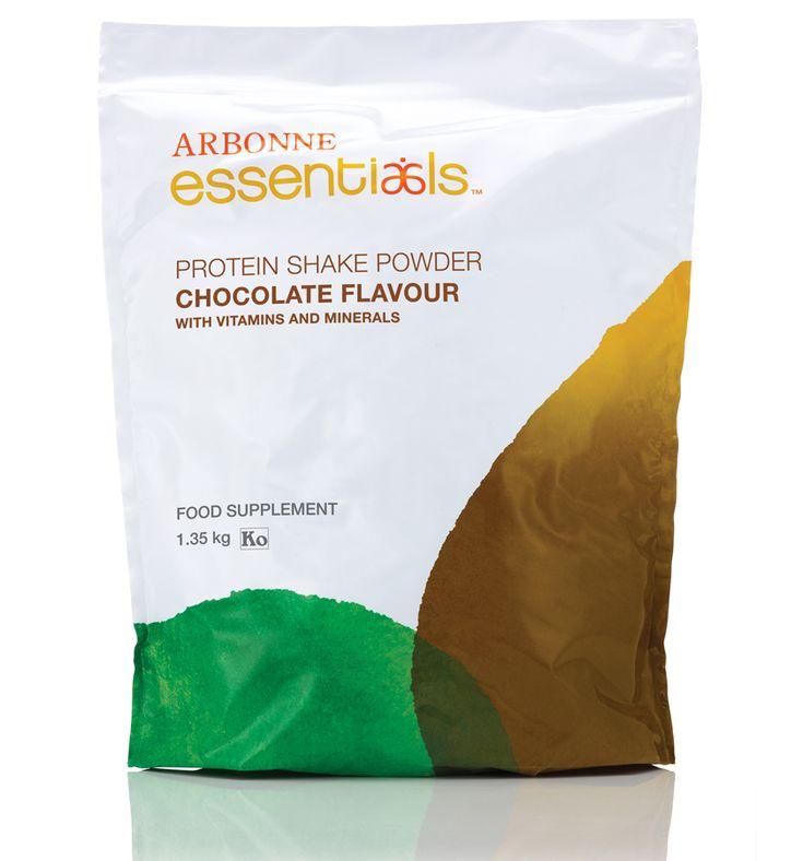 Protein Shake Mix Powder - Chocolate #2957 - Arbonne