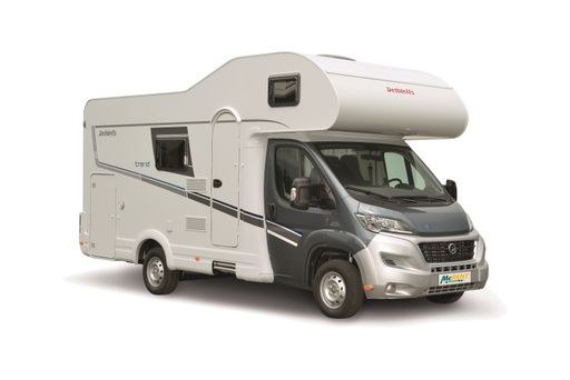 family plus a 5887 (or similar) - motorhome rental  in Germany.