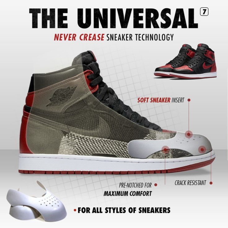 Sneaker Decreaser | Shoe Trees | Prevent Creases | Stop Creasing ...