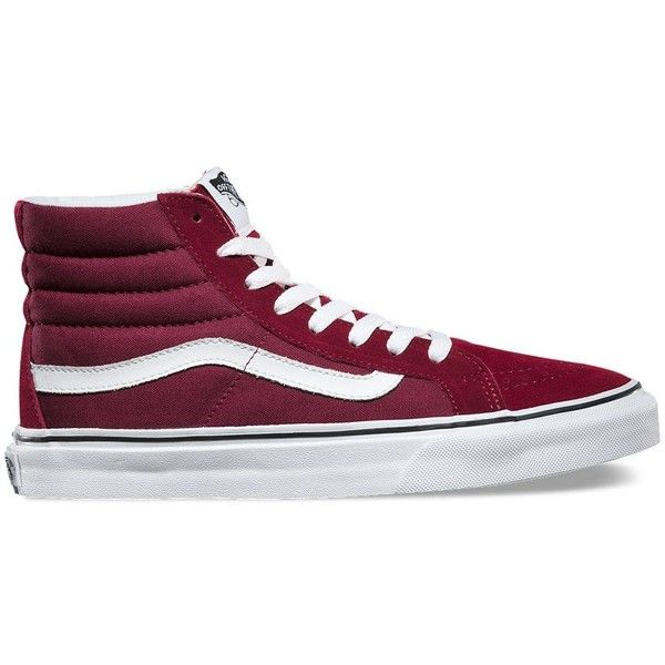 high top vans all burgundy   Come and stroll! 17599e86ac32