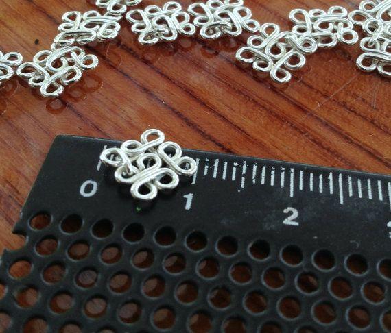 10 piezas de plata los resultados de filigrana de elemento