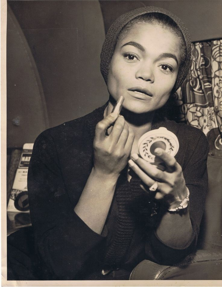 """Eartha Kitt - I saw her perform """"Santa Baby"""" at the National Christmas Tree Lighting a while back and she was amazing!"""