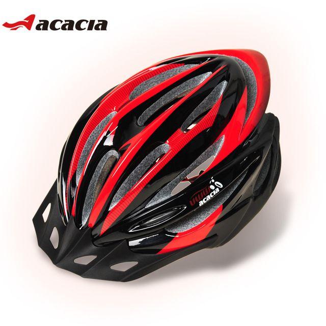 Acacia bicicleta casco ultraligero en molde casco de la bicicleta casco de seguridad casco de la bici mtb casco de bicicleta de carretera ciclismo equipo de ciclismo