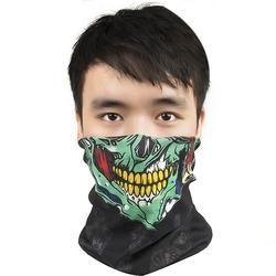 New Skull Face Mask Bandana Bike Motorcycle Scarf Face CS Ski Headwear Neck Party Masks Halloween Mask Motorcycle Mask Skull