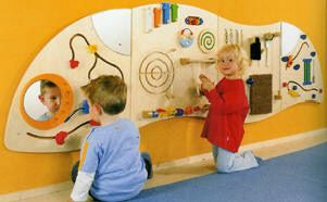 Interactive Childrens Wall Panels, Interactive Wall Panels, waiting room furniture