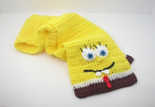Spongebob Squarepants Scarf from Nickelodeon Shops, Other and Handmade acce...