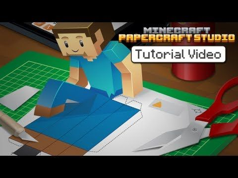 "[VIDEO] How to create 3D paper models of your Minecraft creations—The ""Minecraft Papercraft Studio"" app provides 'old-school' printable 2D nets that you can fold into 3D models"