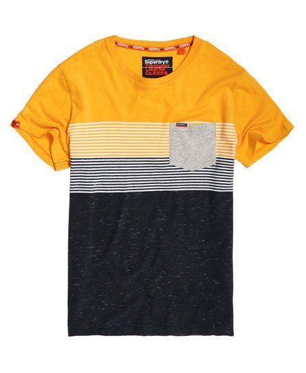 a4773b30a Superdry Miami Stripe Pocket T-Shirt | everlast in 2019 | Shirts ...