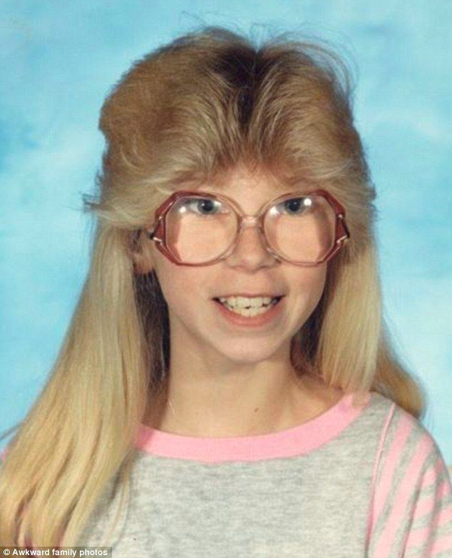 .gallery of 80s hairstyles shared by Akward Family Photos..