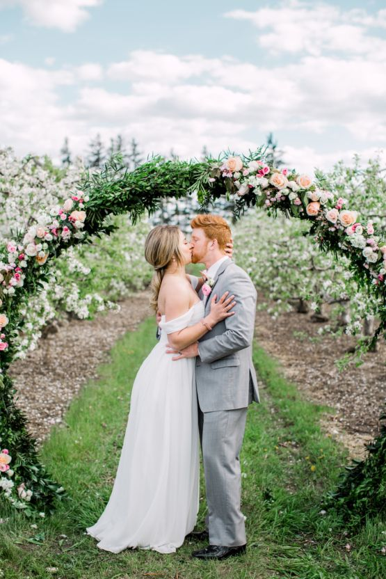 796 best unique wedding ideas images on pinterest event bright and colorful apple blossom orchard wedding inspiration junglespirit