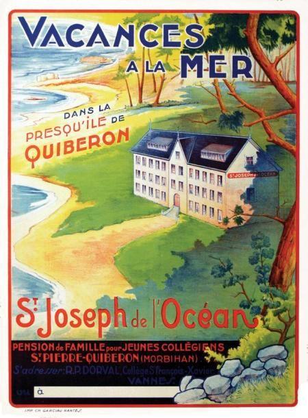 St Joseph de L'Océan - Presqu'ile de Quiberon - vacances à la mer - St-Pierre-Quiberon - France -