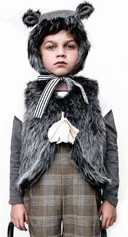 Wolf costume <3