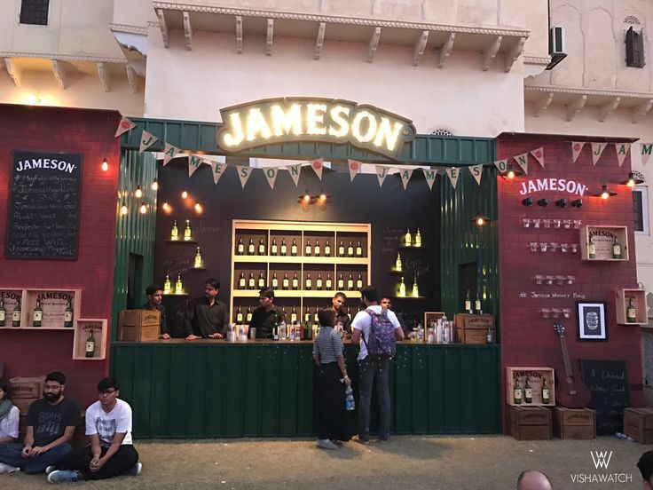 Two things that kept everyone grooving all night – Jameson cocktails & Magnetic Field's fantastic line up of musicians.