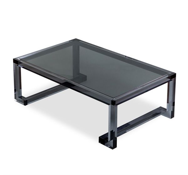 Interlude Home Ava Cocktail Table In Smoke So Cool Perfect For A Bachelor Pad Tables