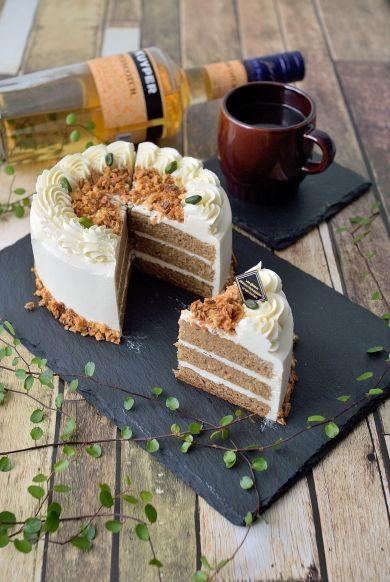 「バタークリームのシンプルケーキ☆バタースコッチキャラメルで」陽子   お菓子・パンのレシピや作り方【corecle*コレクル】