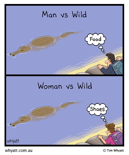 Men Vs Women Funny Quotes: 7 Best Men And Women: YES We Are Different Images On