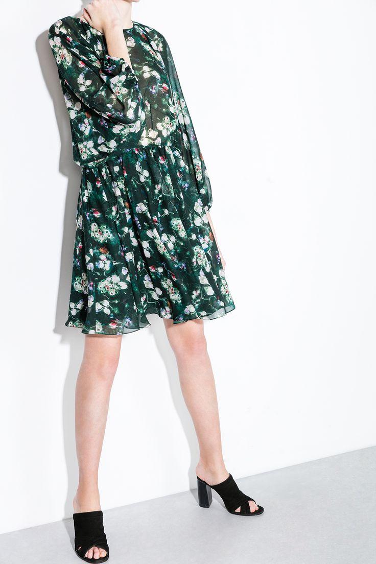 Zapatos mule de tacón en ante con tacón forrado en suela de color natural. 9.5 cm de tacón. Made in Spain.</br>- Tallas 36 y 41 de venta exclusiva online. | Zapatos | Fifty Factory
