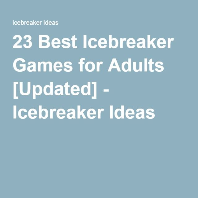 Christmas Party Icebreaker Games For Adults: 839 Best Images About Teambuilding Activities On Pinterest