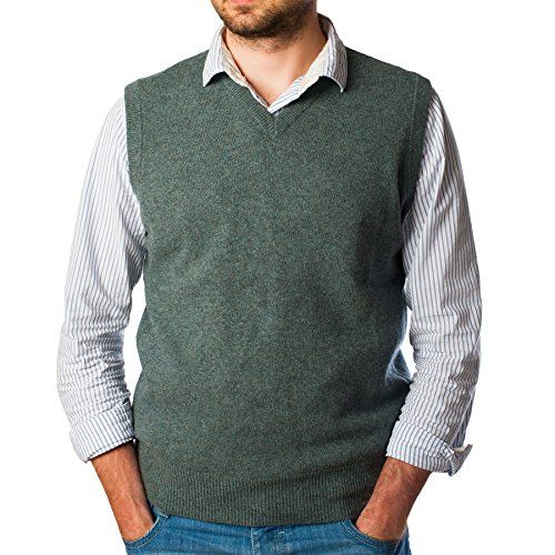 Hawick Knitwear Men's Knitted 100% Cashmere V-Neck Sleeveless Slipover  http://www.yearofstyle.com/hawick-knitwear-mens-knitted-100-cashmere-v-neck-sleeveless-slipover/