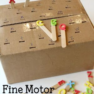 Working on letter recognition  with your little one? Get rid of the flashcards, worksheets, and other nonsense and set up a simple hands-...