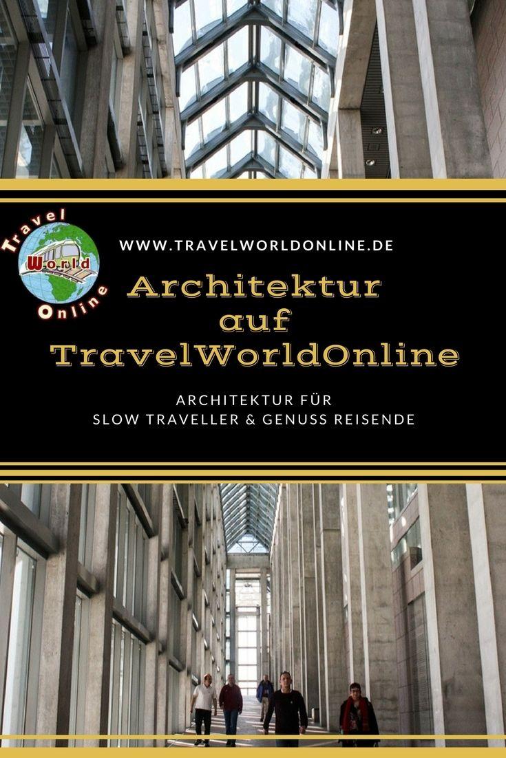 Architektur, die wir auf unseren Reisen entdecken, die uns gefällt.