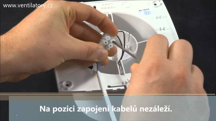 Ventilátor do koupelny Dalap BFA
