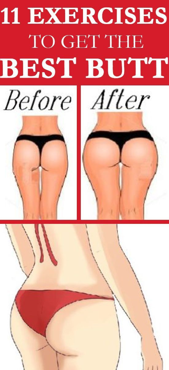 11 Exercises to Get the Best Butt Workouts