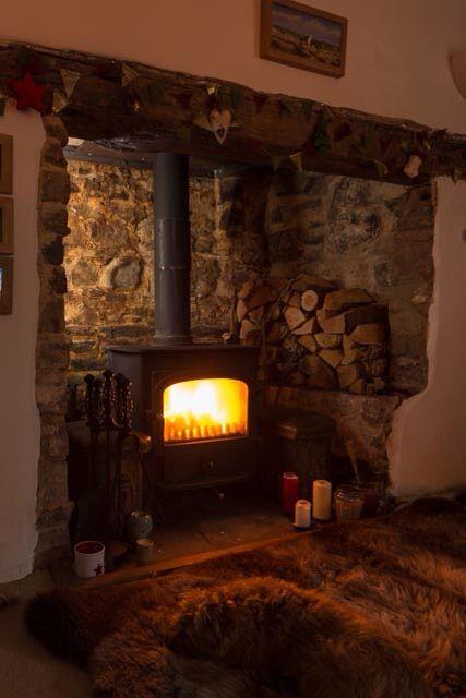 Inglenook fireplace                                                                                                                                                     More