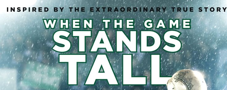 When The Game Stands Tall in theatres Aug. 22. Watch the trailer: bit.ly/1nXdbjo #StandTall