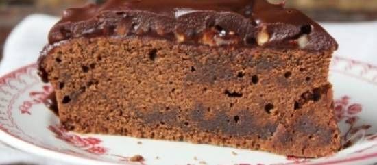 Chocolade-fudge Taart recept | Smulweb.nl