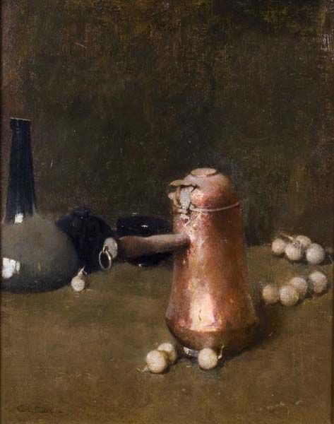 Emil Carlsen Still Life (also called The Chocolate Pot) c.1905