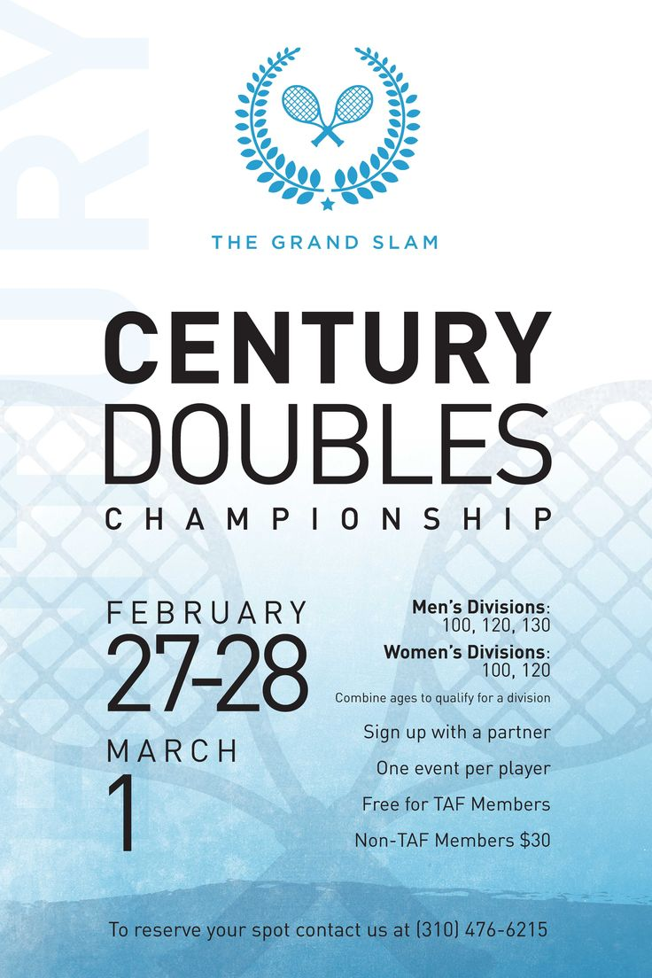 46 best tennis posters images on pinterest tennis posters tennis flyer template doubles championship tournament poster fandeluxe Gallery